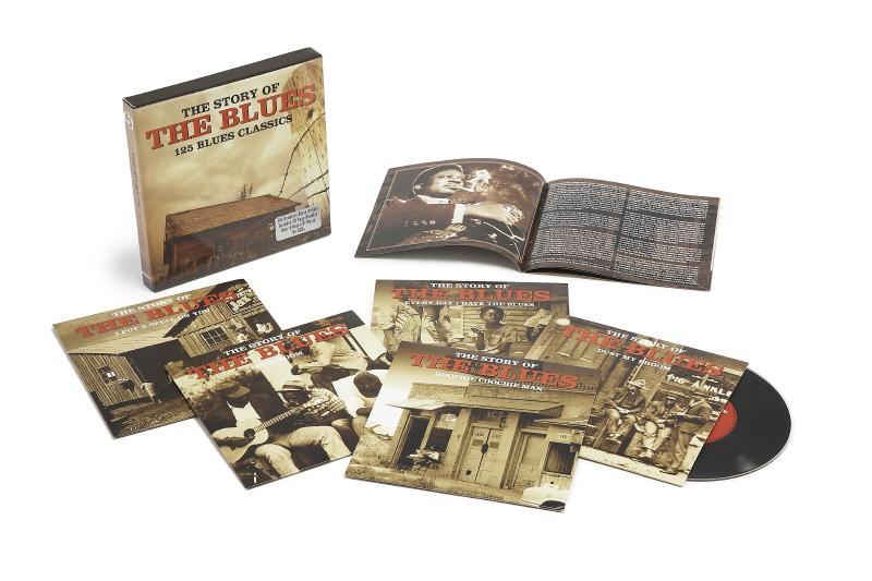 5CD Jazz / Blues Boxsets