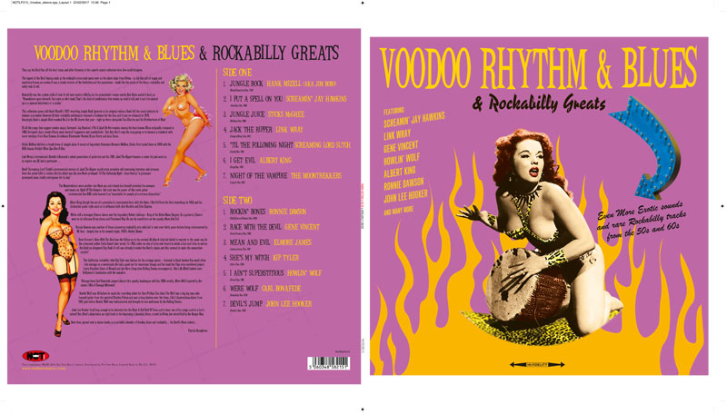 Voodoo Rhythm & Blues Collectors Sets