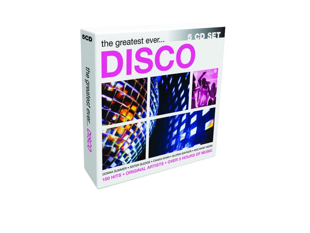 5CD Pop Boxsets