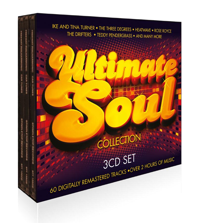 Ultimate Soul 3CD Boxset