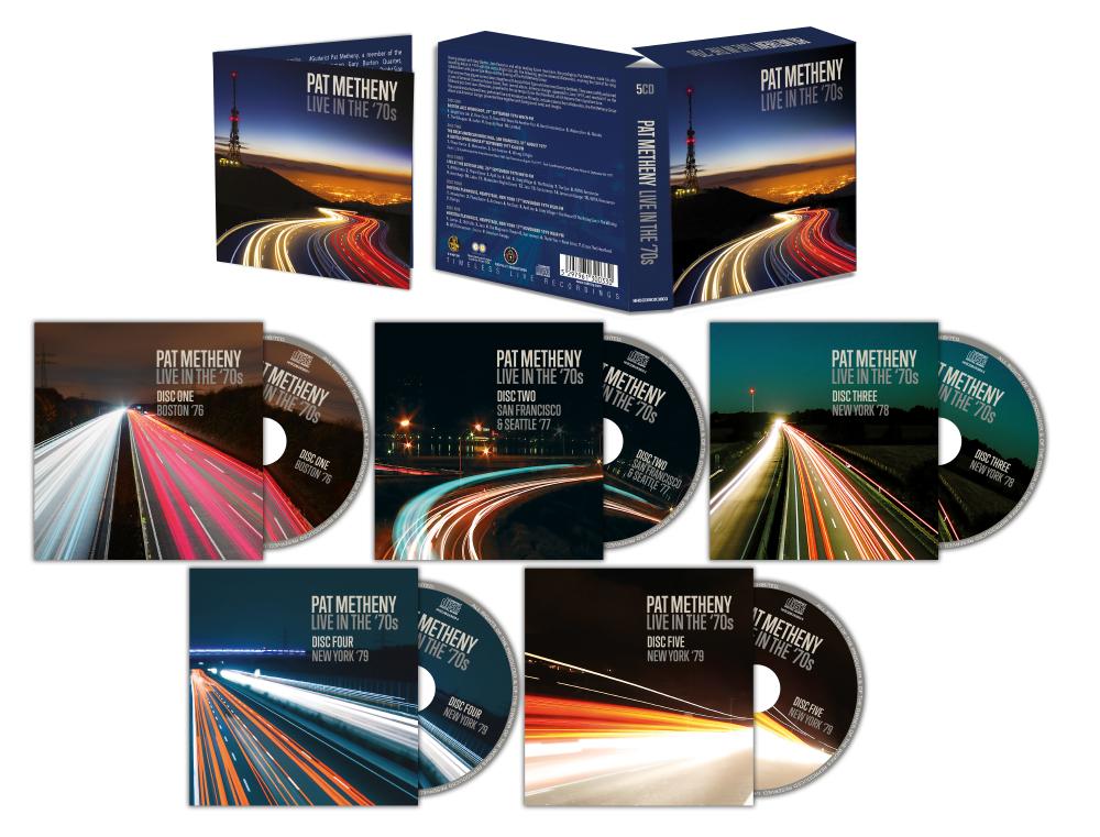 5CD Pat Metheny Boxset