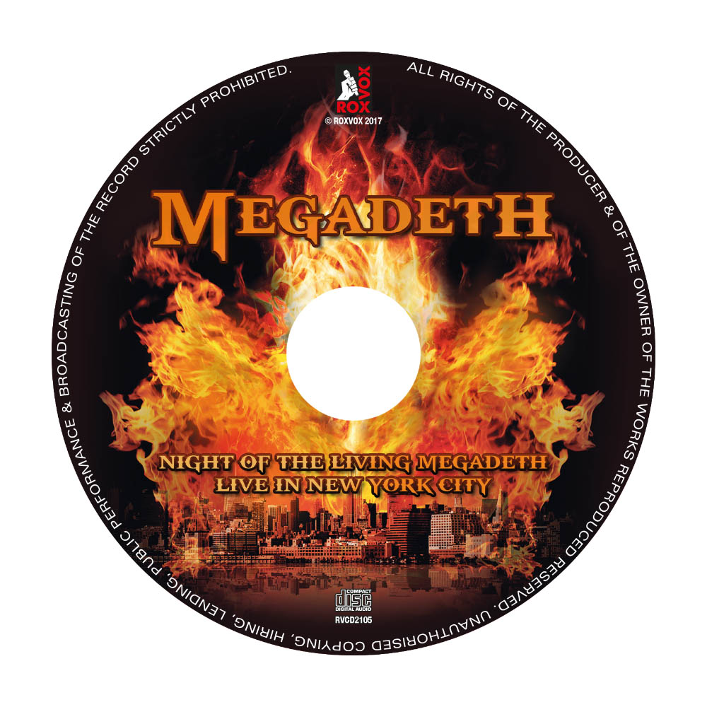 Megadeath – Live In New York