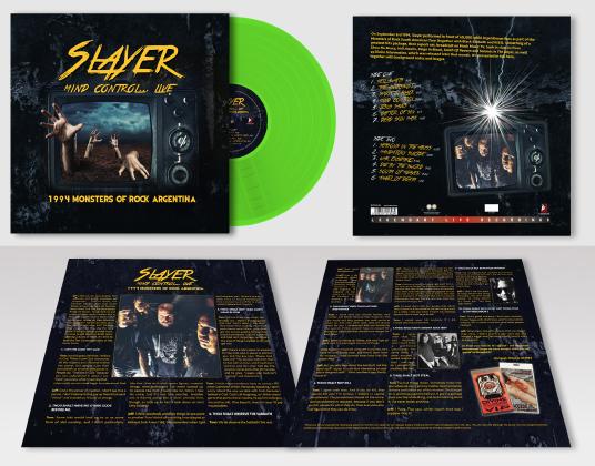 Slayer – Mind Control… Live