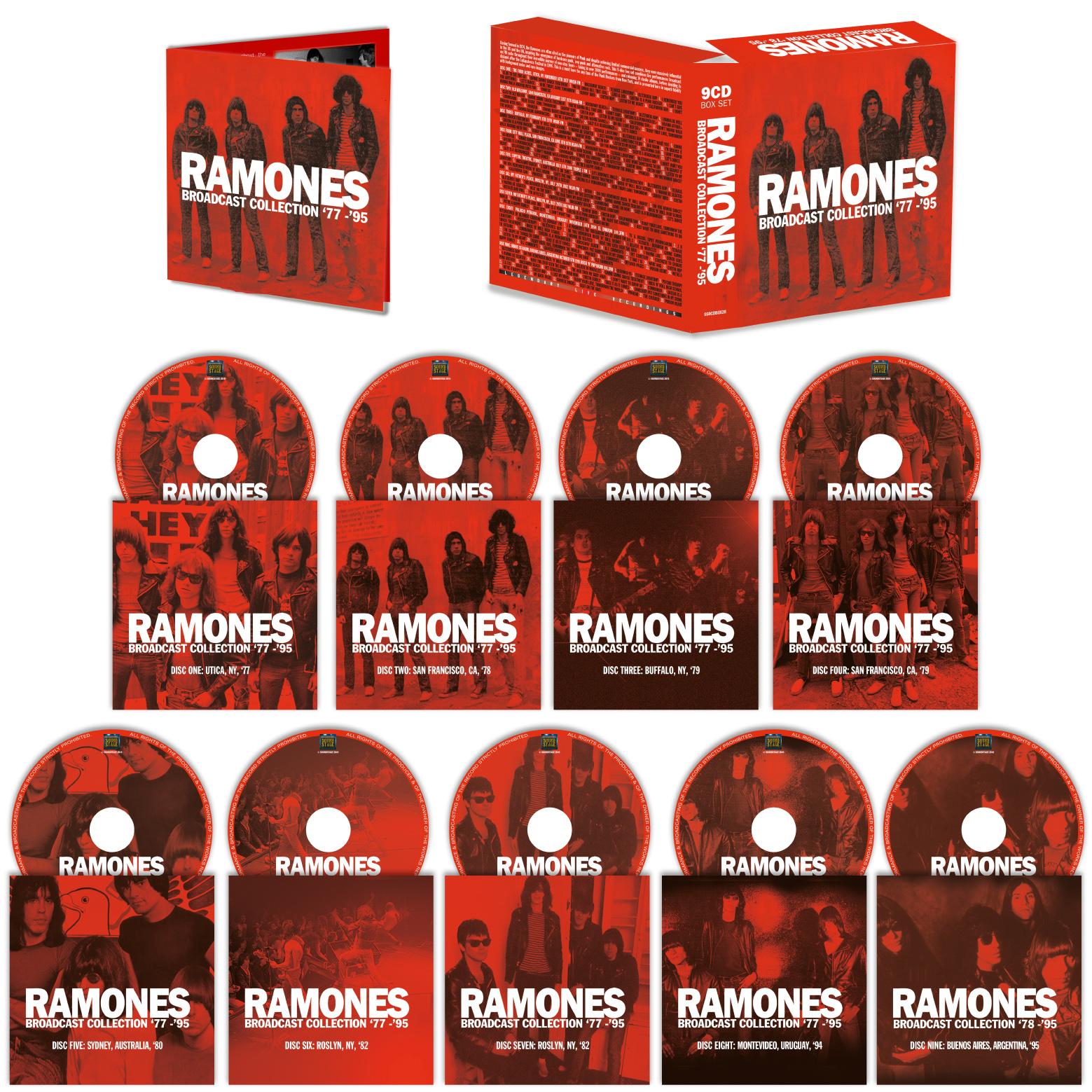 9CD Ramones Boxset