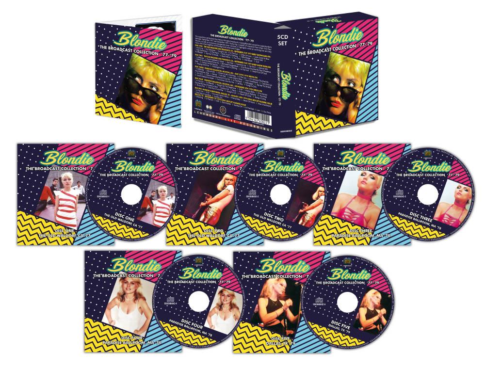 5CD Blondie Boxset