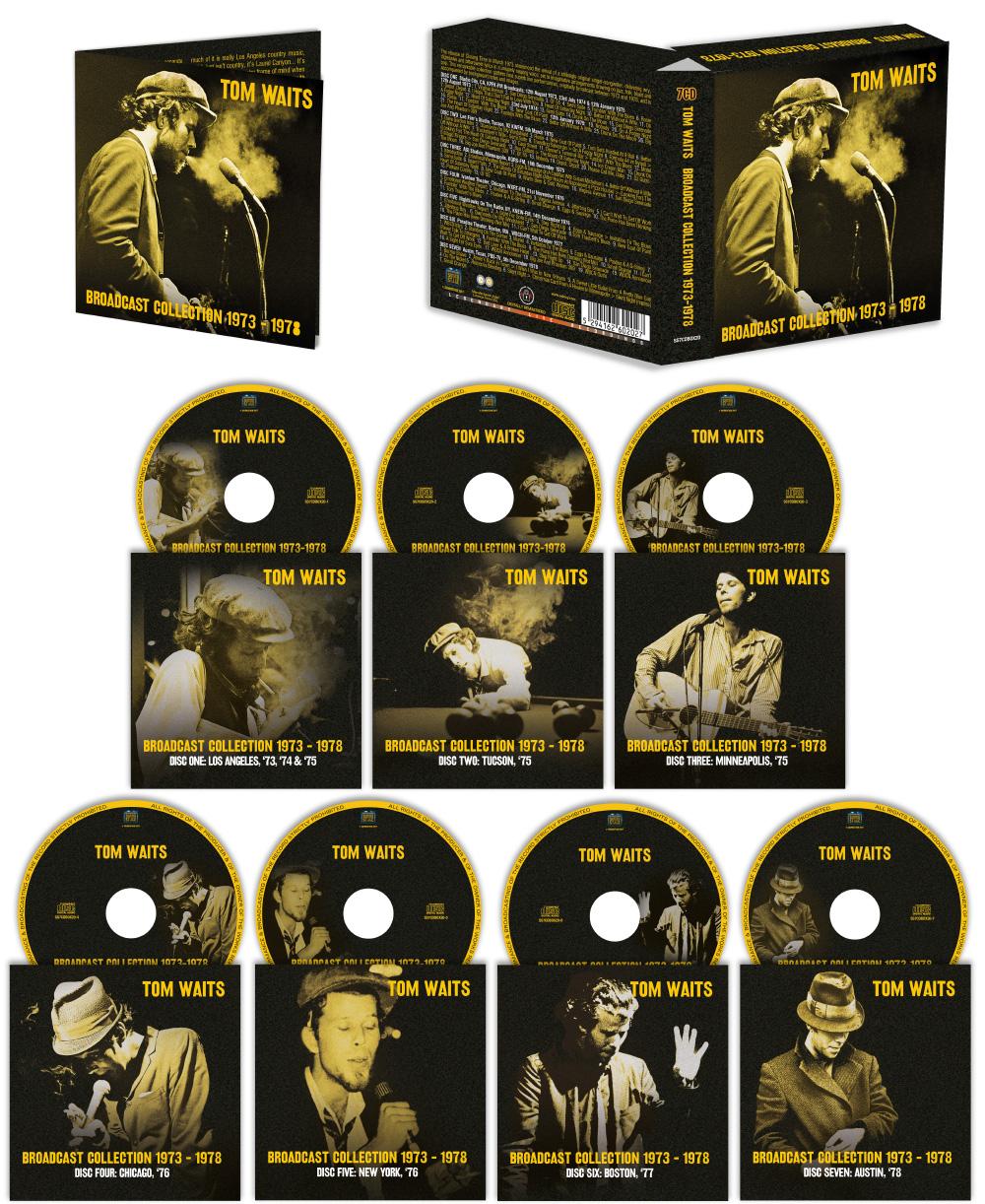7CD Tom Waits Boxset