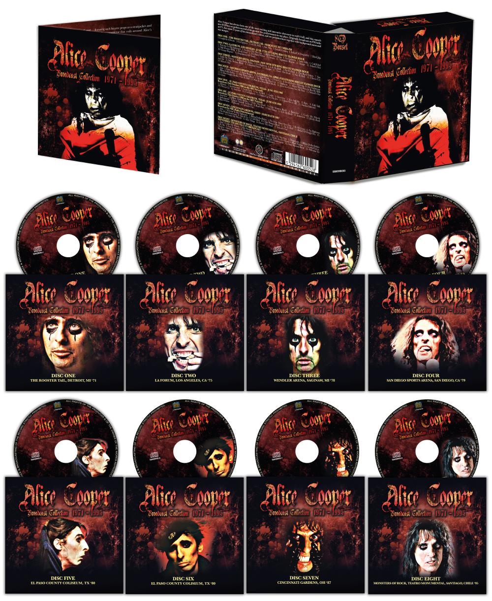 8CD Alice Cooper Boxset