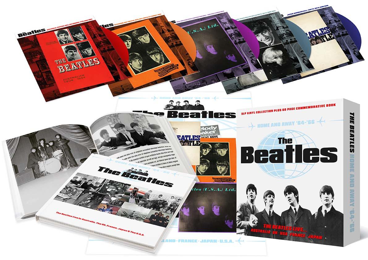 5 Vinyl Beatles Collectors Set