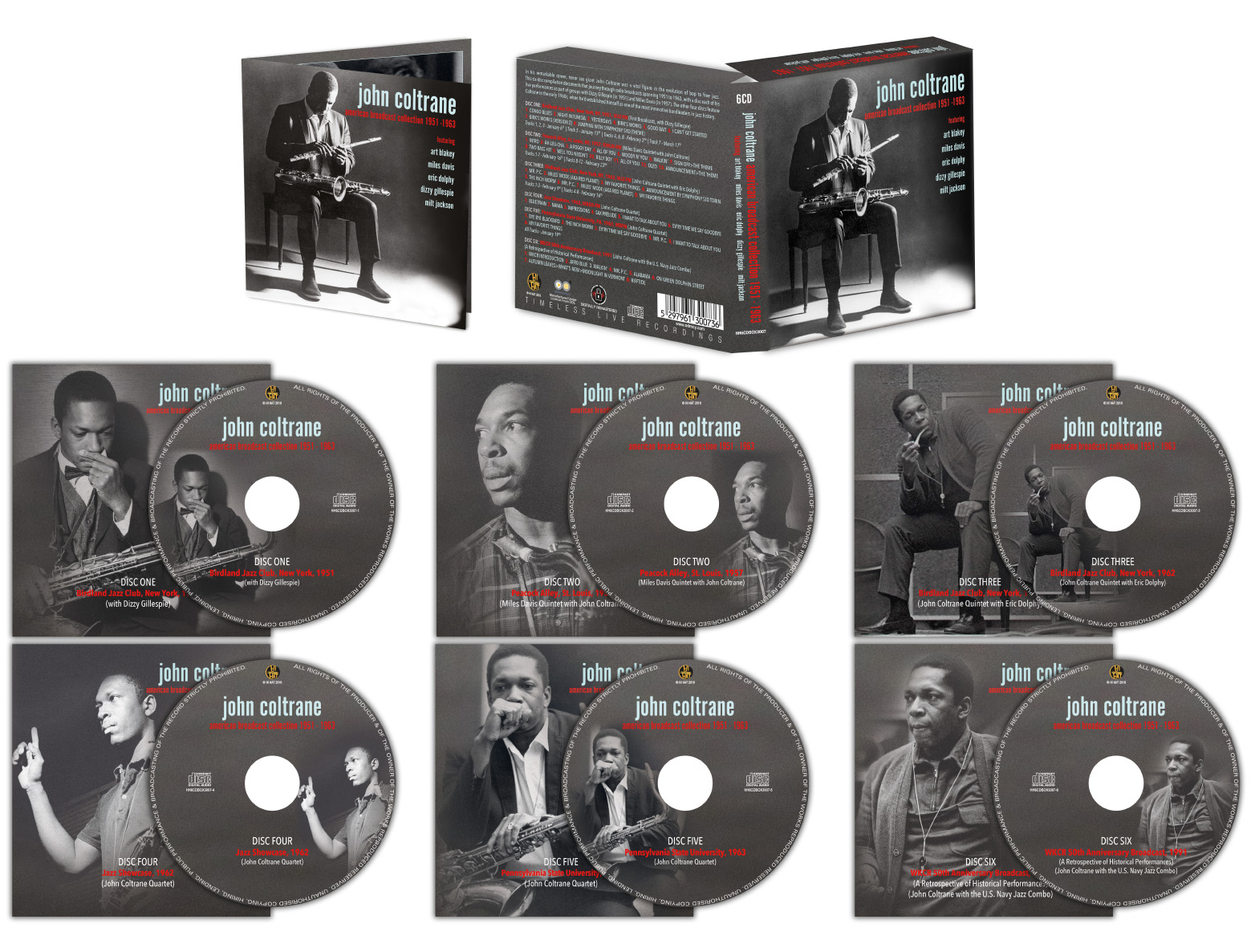 6CD JOHN COLTRANE BOXSET